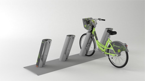 The well designed bike stands